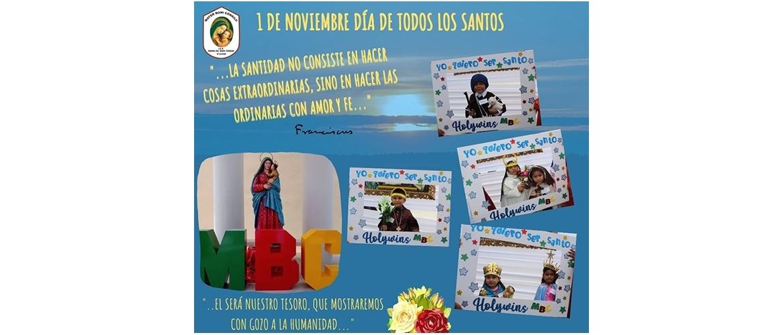01 Noviembre: Día de todos los Santos