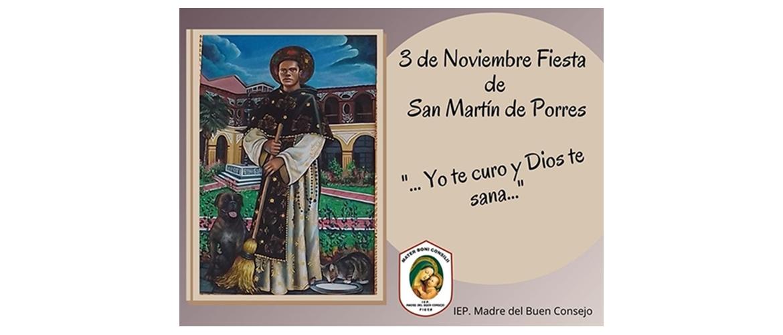 3 Noviembre: San Martín de Porres