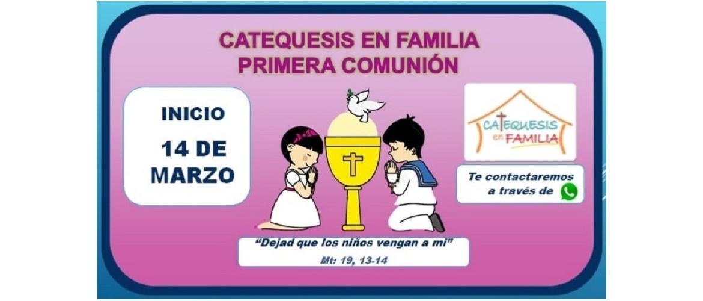 Inscripciones Catequesis de Primera Comunión MBC 2021