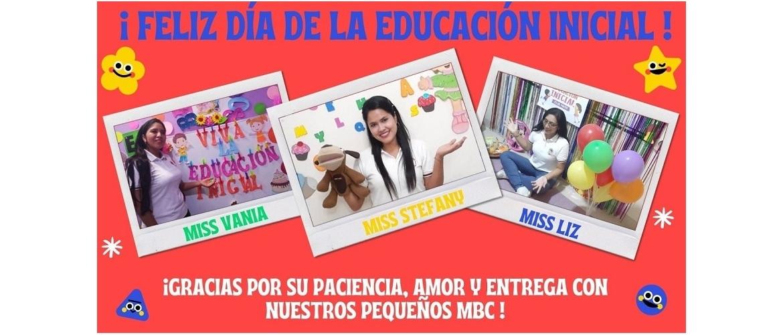 25 mayo:  ¡Feliz día de la Educación Inicial!
