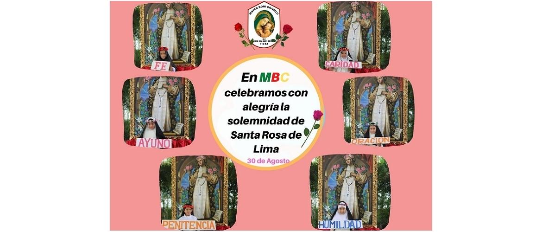 30 Agosto Santa Rosa de Lima