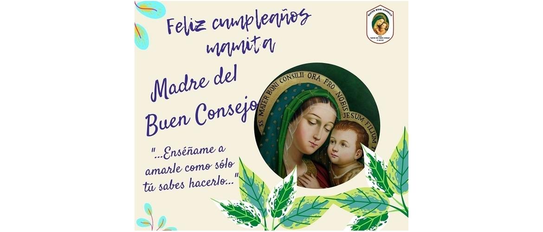 8 Setiembre Natividad de la Virgen María